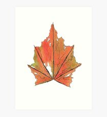Maple Leaf? Art Print