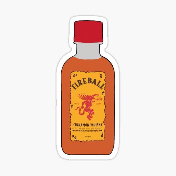 Fireball Sticker