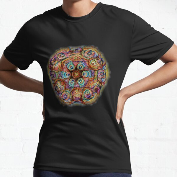 #DeepDreamed Amulet Active T-Shirt