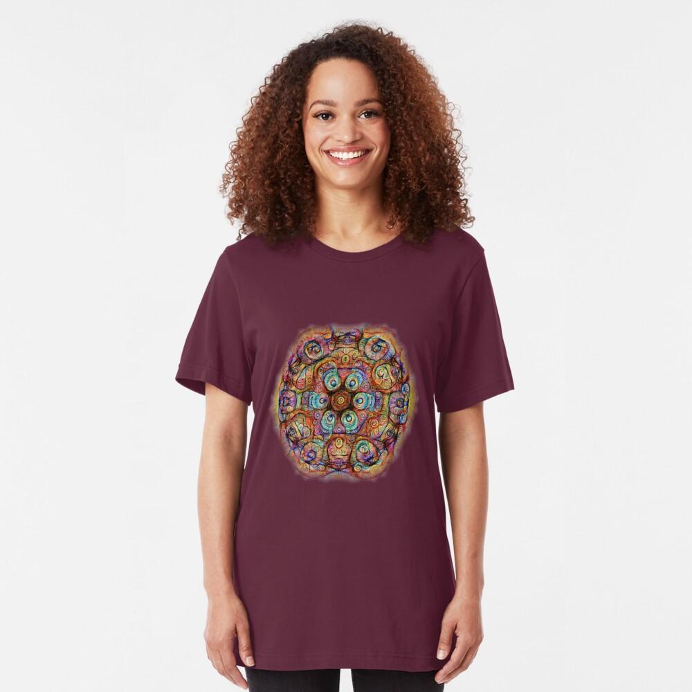 #DeepDreamed Amulet Slim Fit T-Shirt