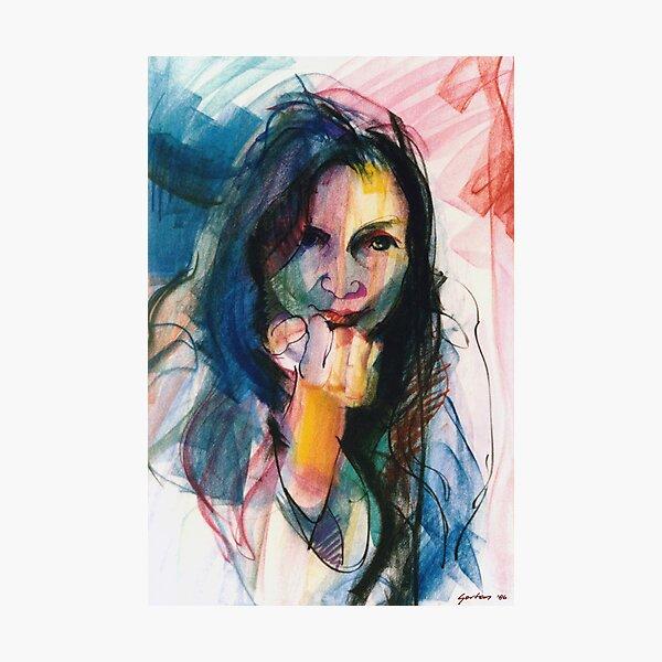 Janine in Pastel Photographic Print
