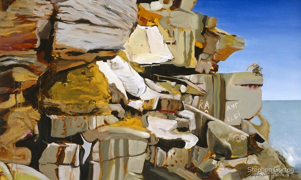 The Cliffs of North Bondi by Stephen Gorton