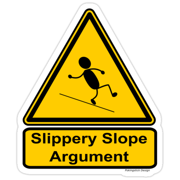 slippery slope arguments Slippery slope arguments and discretely countable subjects of experience i've become increasingly worried about slippery slope arguments concerning the presence or absence of ( phenomenal ) consciousness.