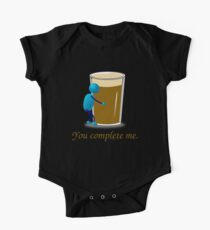 You complete me -- beer One Piece - Short Sleeve