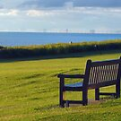 Overlooking the Wash from Hunstanton. by Billlee
