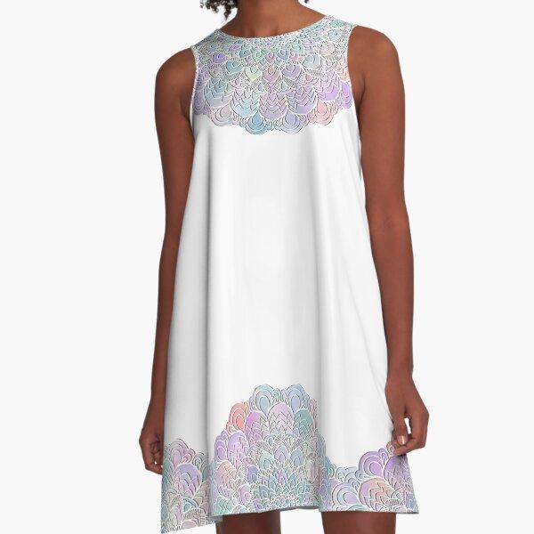 Pastel mandala A-Line Dress