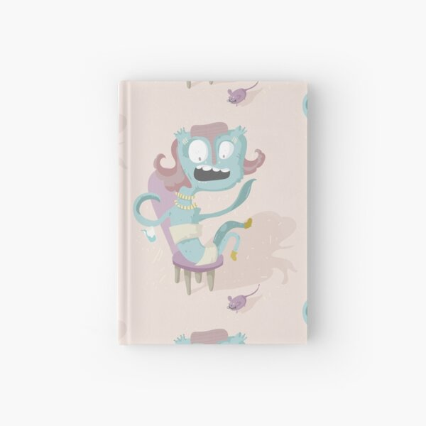 I'm not scared... Only my shoes, in fact. Hardcover Journal