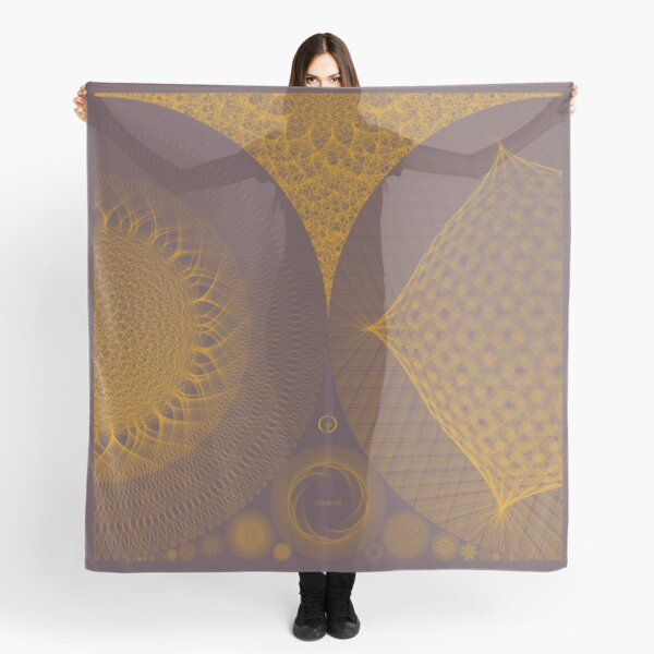 Contemporary Mandalas Track | Slow Down | Golden Hour Scarf