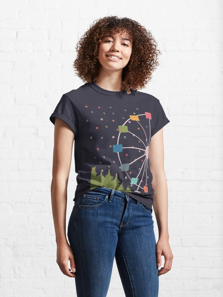 Alternate view of Ferry Wheel Carnival Classic T-Shirt