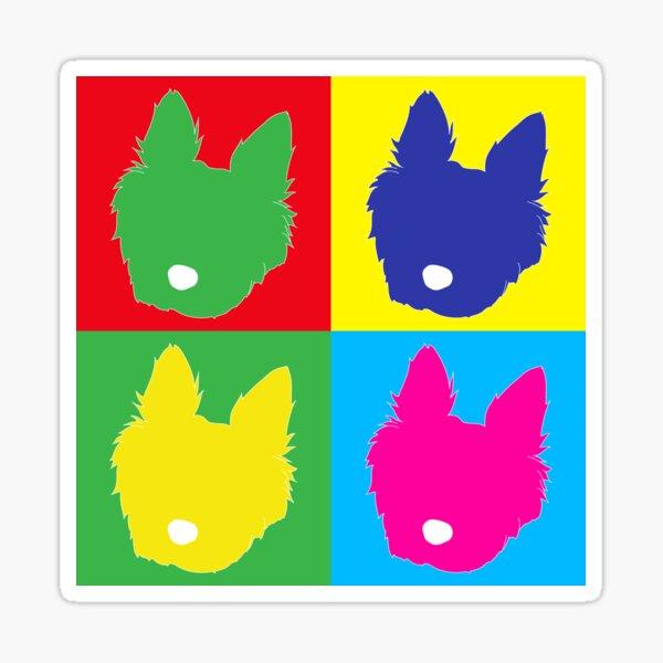 Colour Pup Art! Sticker