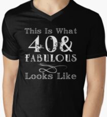 Fun Fabulous 40th Birthday T-Shirt