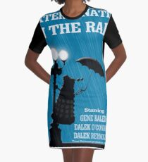 MusiKill in the Rain Graphic T-Shirt Dress