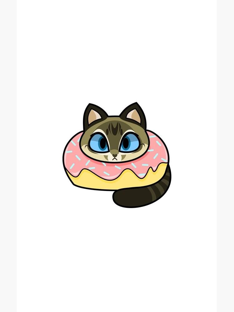 Lynx Point Siamese Donut Cat de SpindleSpice