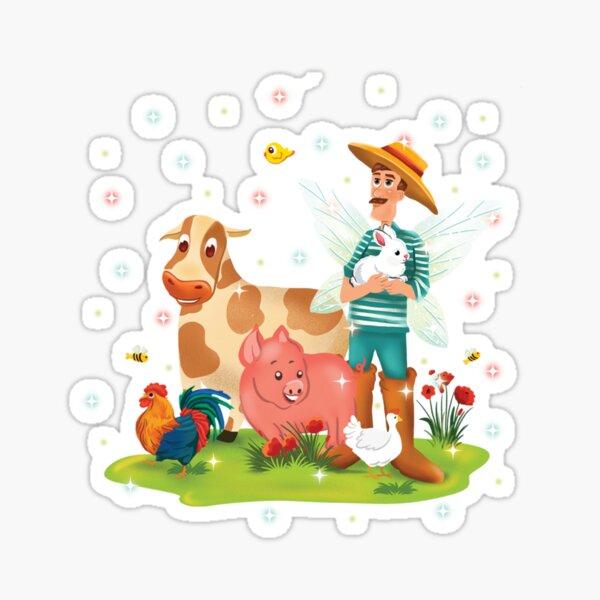 Magical Fairy Farm Life With Jonathan The Fairy Farmer™ Sticker