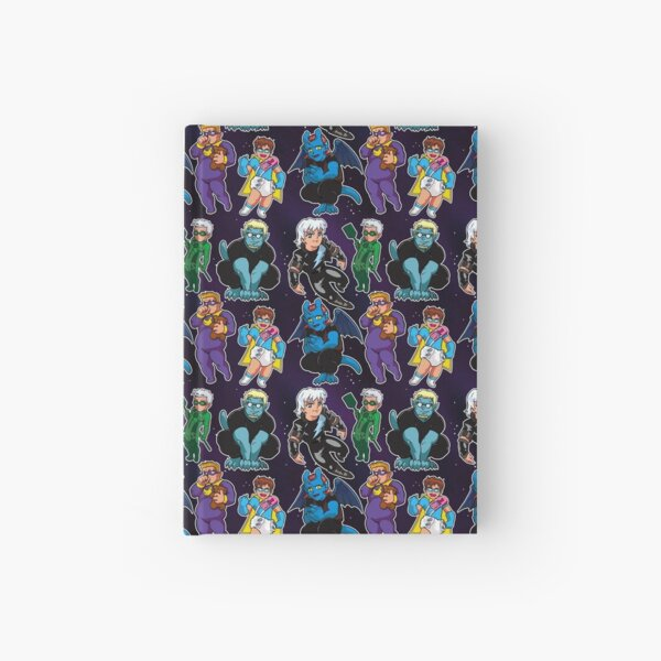 Chibi Twogargs Hardcover Journal
