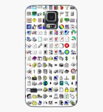 Windows XP icons Case/Skin for Samsung Galaxy