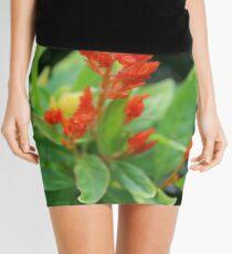 Carrot Salvia Mini Skirt