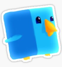 Cube Tweet Sticker