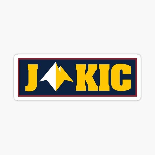 Nikola Jokic - Denver Basketball Sticker