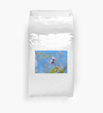 Friends Greeting Card Duvet Cover