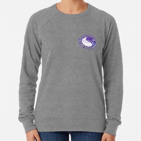 Zen Dog SMALL LAPEL Purple Tie Dye 2021 Lightweight Sweatshirt