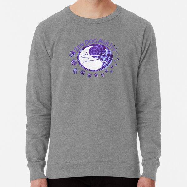 Zen Dog Agility Purple Tie Dye 2021 Lightweight Sweatshirt