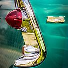 1956 Chevy tail light art by Tony  Bazidlo