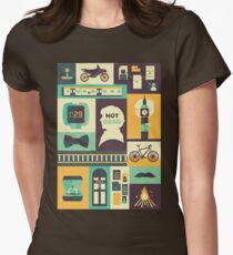The Empty Hearse Womens Fitted T-Shirt