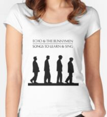 Echo And The Bunnymen - Songs To Learn And Sing Women's Fitted Scoop T-Shirt