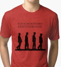 Echo And The Bunnymen - Songs To Learn And Sing Tri-blend T-Shirt