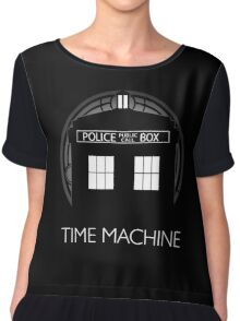 TIME MACHINE Women's Chiffon Top