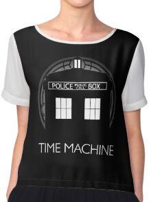 TIME MACHINE Women's Chiffon Top