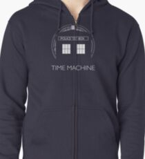 TIME MACHINE Zipped Hoodie