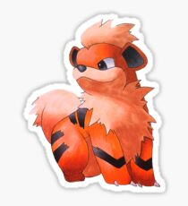 Pokemon Growlithe Sticker