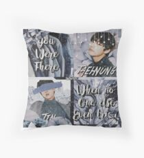 Jin & Taehyung Blue Edit BTS Throw Pillow