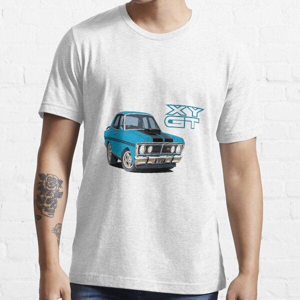 Ford Falcon XY GT HO Car toon, Bluey Essential T-Shirt