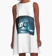 Pokemon Cyndaquil A-Line Dress