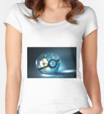 Pokemon Cyndaquil Women's Fitted Scoop T-Shirt