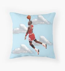 Jordan Polygon Art Throw Pillow