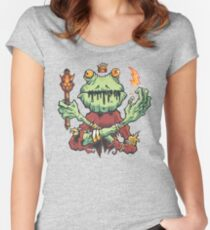 Frog King Women's Fitted Scoop T-Shirt
