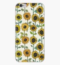Gemalte Sonnenblumen iPhone-Hülle & Cover