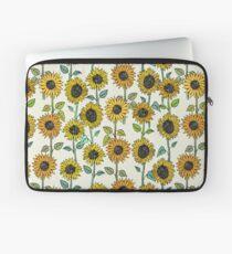 Gemalte Sonnenblumen Laptoptasche