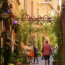 Streets of Orvieto by Barbara  Brown