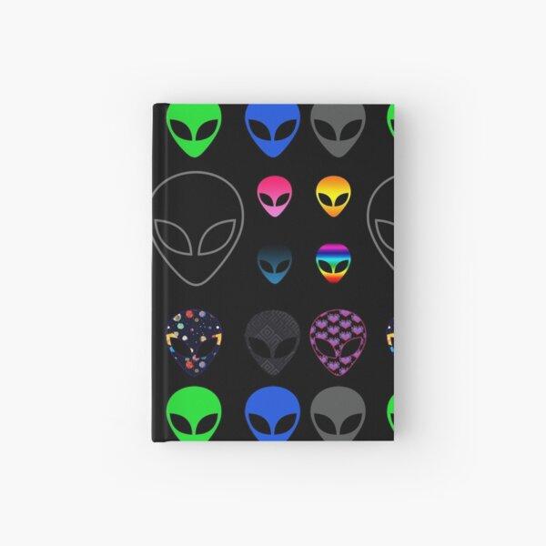 Alien Faces Hardcover Journal