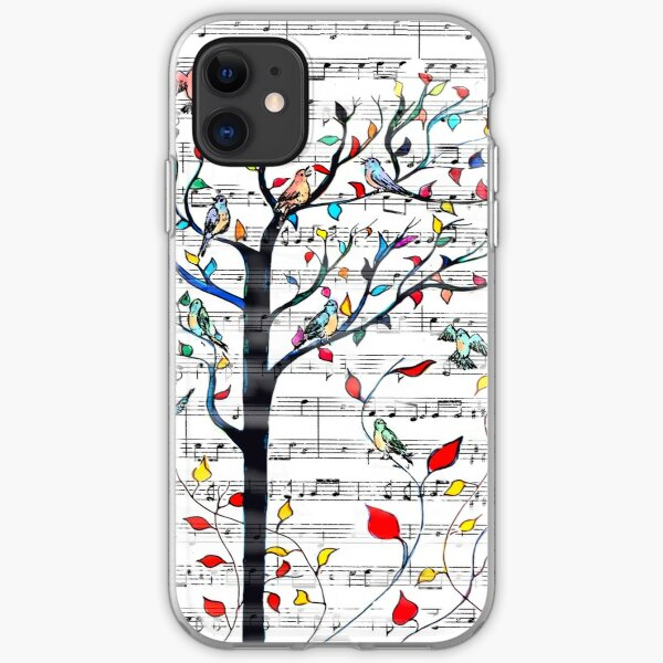 Songbirds in a Tree iPhone Soft Case