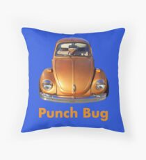 Punch Bug Throw Pillow