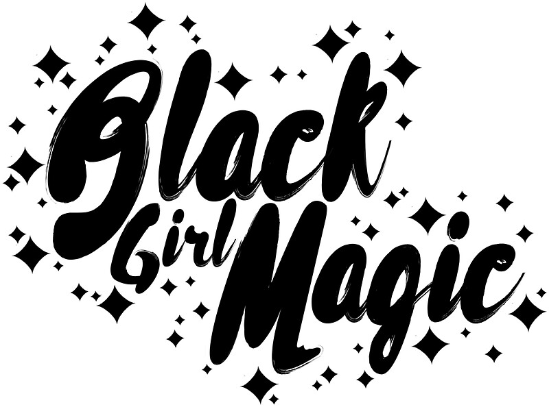 Quot Black Girl Magic Quot Stickers By Muntyhood Redbubble