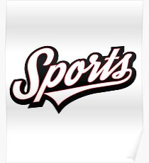 Funny SPORTS! Logo Poster