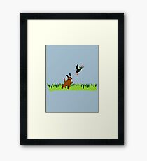 Who's Up for a Duck Hunt? Framed Print