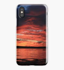 Sunrise at the shore iPhone Case/Skin